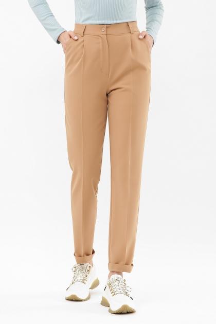 женские брюки цвета фуксии. Брюки Мирей. Цвет: бежевый купить