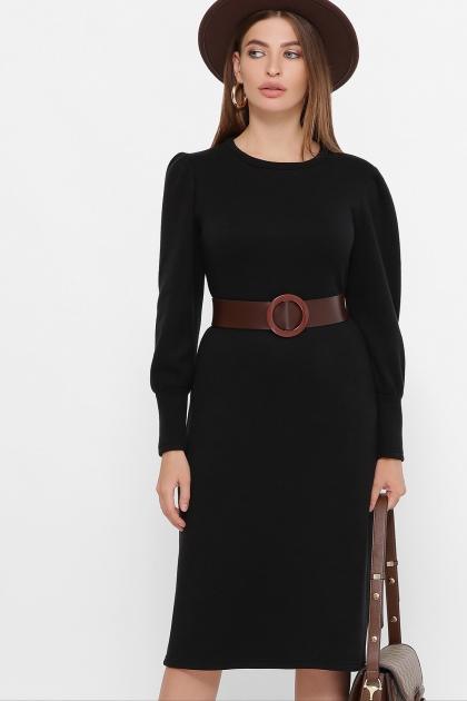 терракотовое платье из ангоры. Платье Жизель д/р. Цвет: черный купить