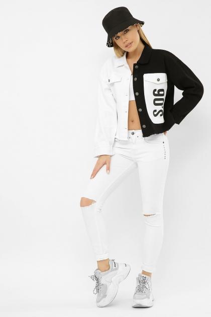 . 211890 AST Куртка VА. Цвет: черный-белый купить