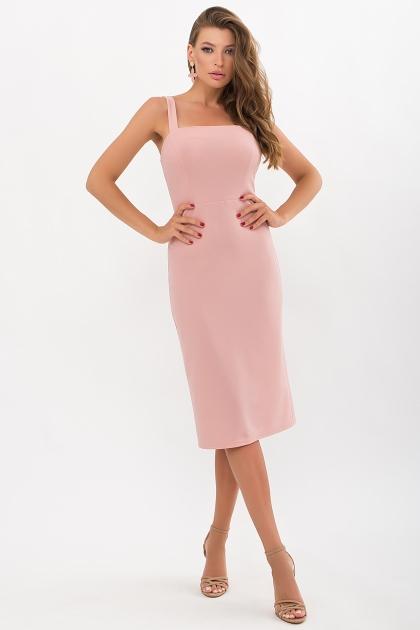 персиковое платье-футляр. Платье Абаль б/р. Цвет: персик купить