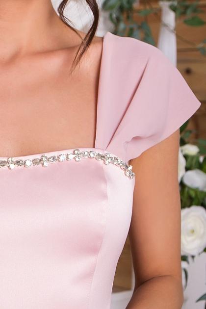 нежное платье на выпускной. Платье Рузи б/р. Цвет: пудра в Украине
