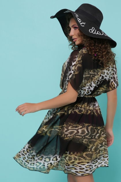. Туника №1. Колір: питон леопард черный купить