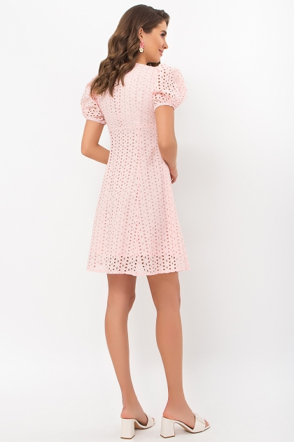 . Платье Эдна к/р. Цвет: персик цена