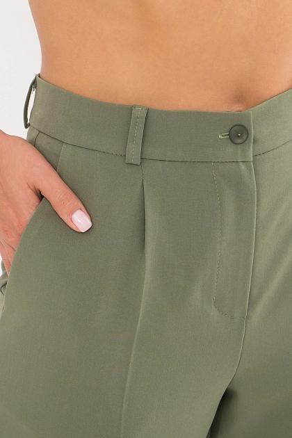 женские брюки цвета фуксии. Брюки Мирей. Цвет: хаки в интернет-магазине