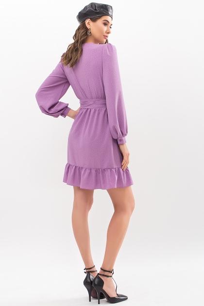 . Платье Идэн д/р. Цвет: сирень-точка черная цена