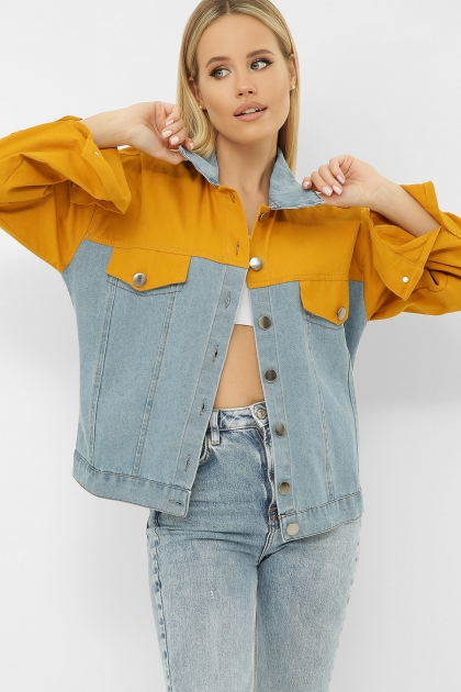 . 106 Куртка VE. Цвет: горчица купить