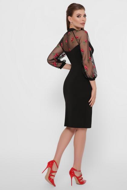 нарядное лавандовое платье. Платье Флоренция В д/р. Цвет: черный 1 в интернет-магазине