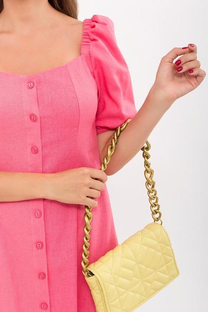 . Платье Абелия к/р. Цвет: розовый в интернет-магазине