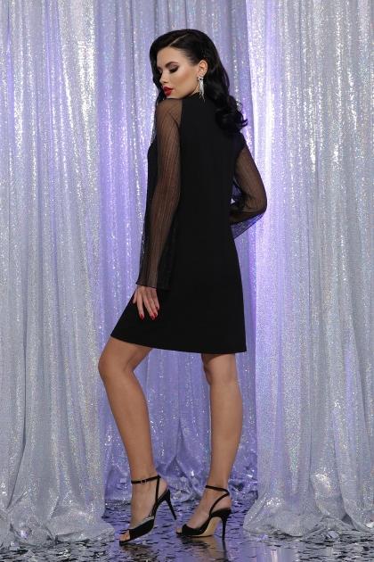 розовое платье с широкими рукавами. Платье Вилма д/р. Цвет: черный в интернет-магазине
