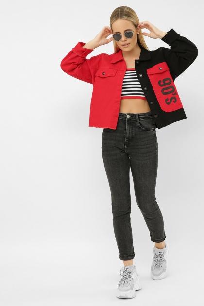 . 211890 AST Куртка VА. Цвет: черный-красный купить