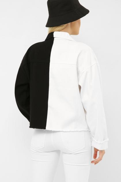 . 211890 AST Куртка VА. Цвет: черный-белый в интернет-магазине