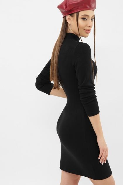 платье-гольф из ангоры. Платье-гольф Алена1 д/р. Цвет: черный цена