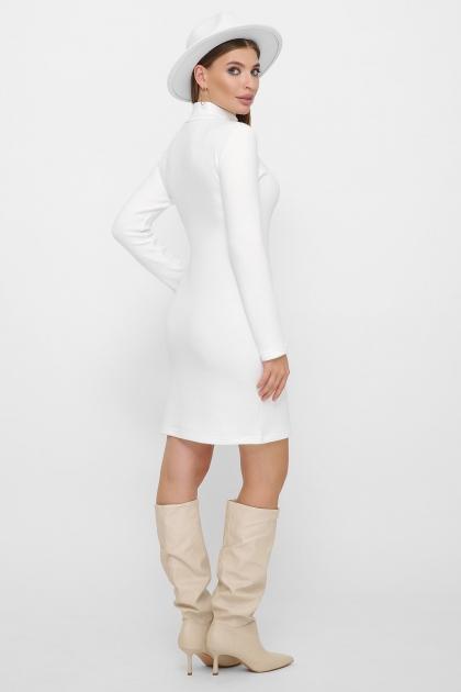 платье-гольф из ангоры. Платье-гольф Алена1 д/р. Цвет: белый в интернет-магазине