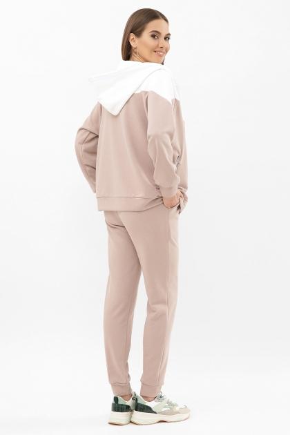 розовый спортивный костюм. Костюм Пэм. Цвет: бежевый-белая отд. цена
