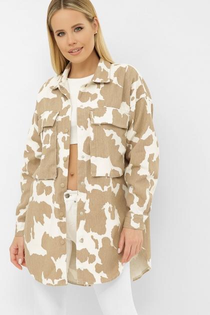 . 2034 Куртка VS-J. Цвет: капучино в Украине