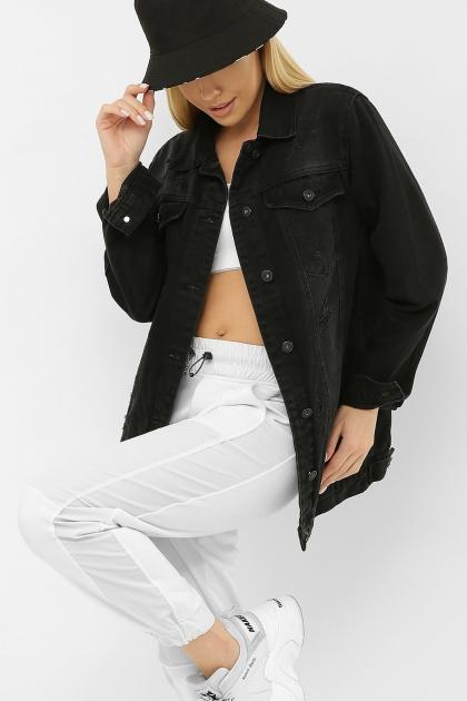 . 20158 Куртка VO-D. Цвет: черный 1 цена