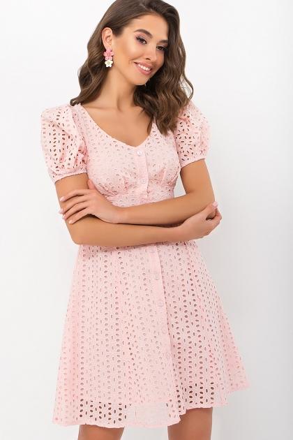 . Платье Эдна к/р. Цвет: персик купить