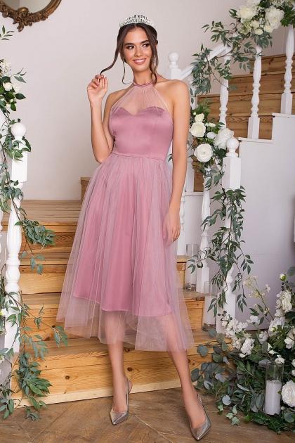 синее платье миди. Платье Джена б/р. Цвет: лиловый купить