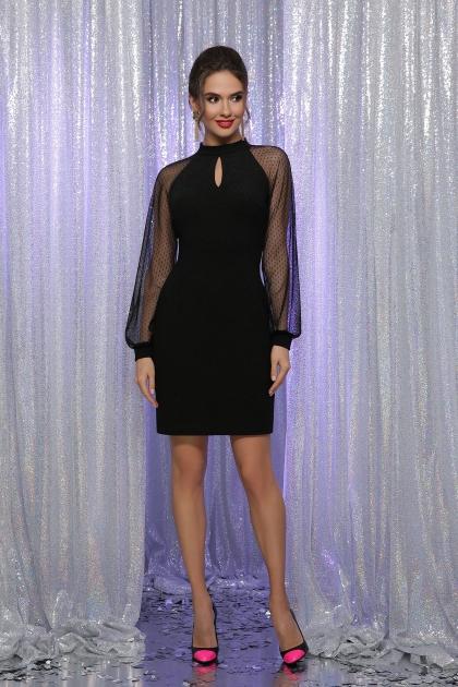 . Платье Маргарет д/р. Цвет: черный цена