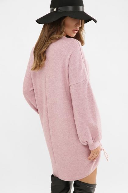 терракотовое платье с длинным рукавом. Платье Диля д/р. Цвет: розовый недорого