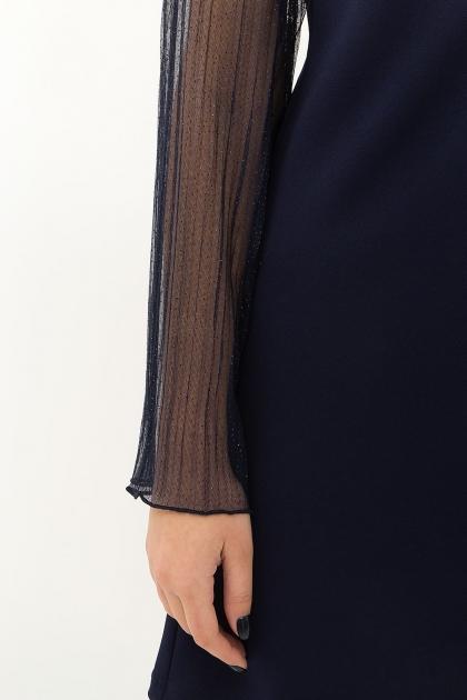 розовое платье с широкими рукавами. Платье Вилма д/р. Цвет: синий в Украине