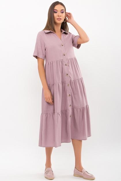 . Платье Иветта к/р. Цвет: лиловый купить