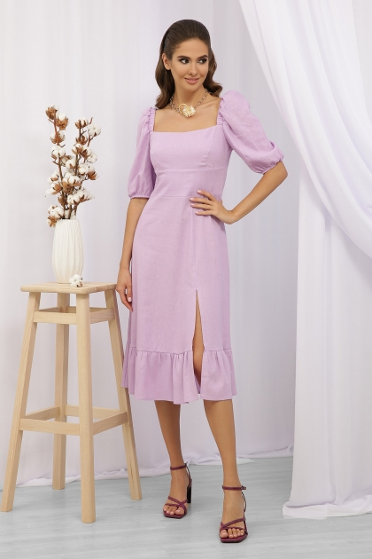 . Платье Коста-Л к/р. Цвет: лавандовый купить
