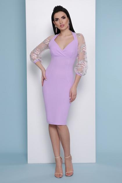 нарядное лавандовое платье. Платье Флоренция В д/р. Цвет: лавандовый купить