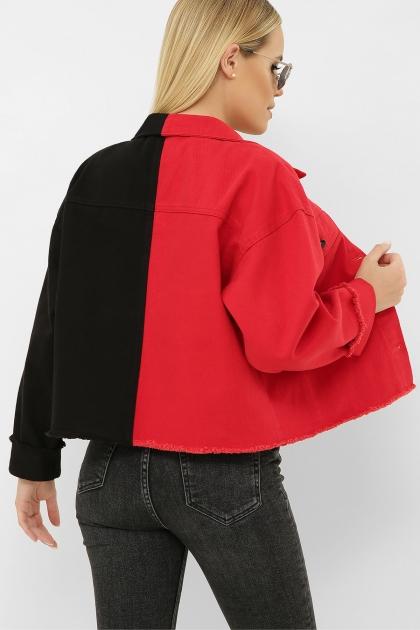 . 211890 AST Куртка VА. Цвет: черный-красный в Украине