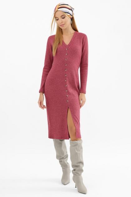 . Платье Альвия д/р. Цвет: бордо цена
