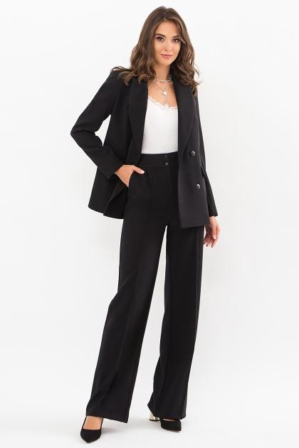 черный деловой пиджак. Пиджак Элейн д/р. Цвет: черный цена