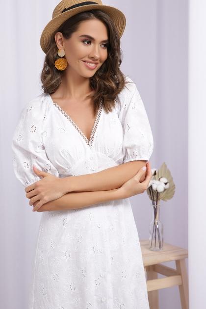 . Платье Саммери к/р. Цвет: белый в интернет-магазине