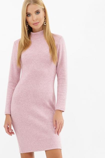 платье-гольф из ангоры. Платье-гольф Алена1 д/р. Цвет: розовый купить