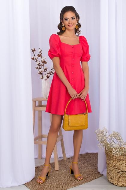 . Платье Абелия к/р. Цвет: коралл купить