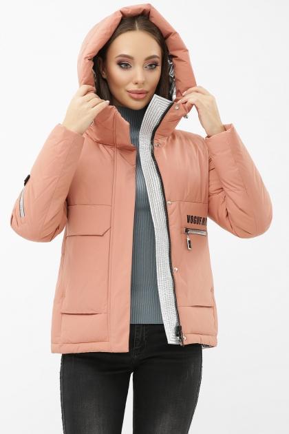 . Куртка М-2092. Колір: 29-пудра-серебро купить