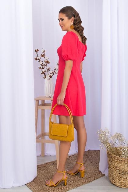 . Платье Абелия к/р. Цвет: коралл цена