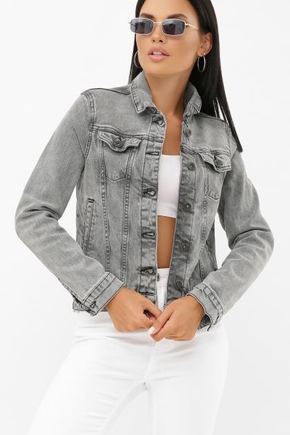 . 2085 Куртка VO-D. Цвет: св. серый недорого