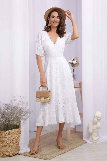 . Платье Саммери к/р. Цвет: белый купить