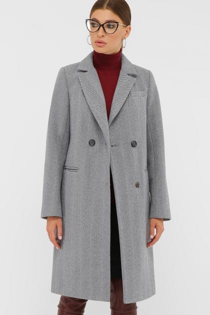 . Пальто П-394-95. Цвет: 2710-голубой купить