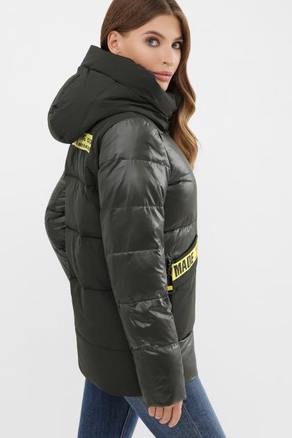 . Куртка 289. Колір: 13-серо-зеленый в интернет-магазине