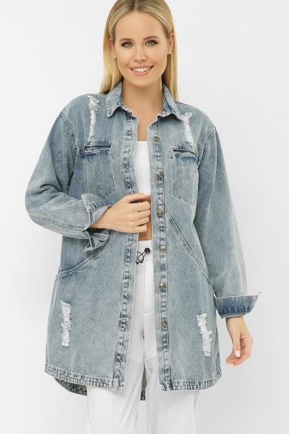 . 107 AST Куртка VА. Цвет: джинс купить