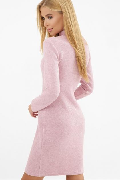 платье-гольф из ангоры. Платье-гольф Алена1 д/р. Цвет: розовый в интернет-магазине