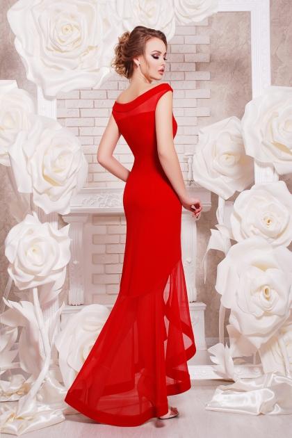 красное вечернее платье. Платье Ингрид б/р. Цвет: красный цена
