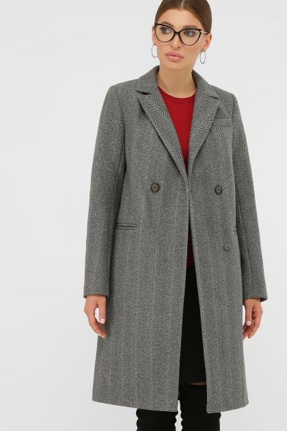 . Пальто П-394-95. Цвет: 2709-серый купить