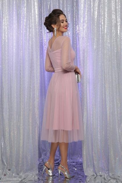 . Платье Маулина д/р. Цвет: пудра в интернет-магазине