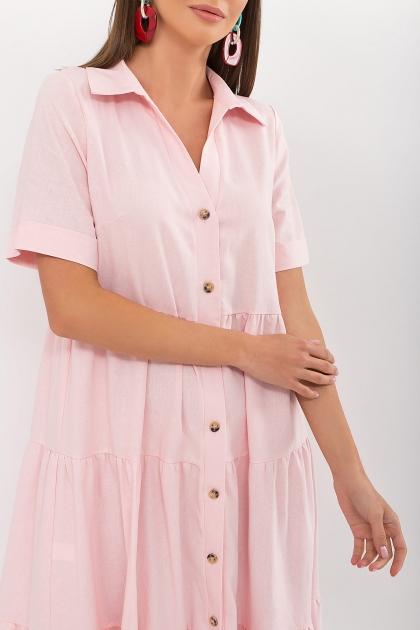 . Платье Иветта к/р. Цвет: пудра в интернет-магазине