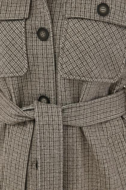 . Пальто П-409-85. Цвет: 2704-т.серый недорого
