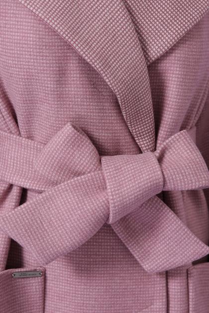 демисезонное песочное пальто. Пальто П-347-М-90. Цвет: 8-А-розовый в интернет-магазине