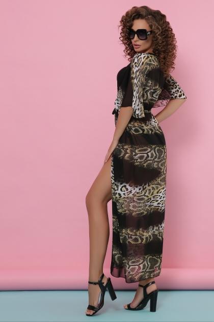 . Туника №2. Колір: питон леопард черный купить