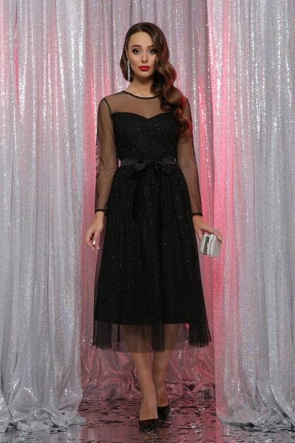 . Платье Маулина д/р. Цвет: черный цена